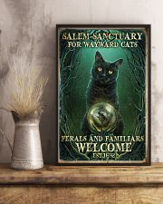 Salem sanctuary for wayward cats 11x17 Poster lifestyle-poster-3