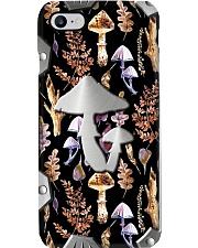 Mushroom Metal Pattern Print Phone Case i-phone-8-case