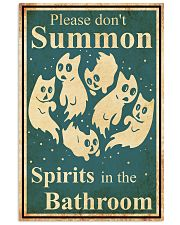 Please don't summon 11x17 Poster front