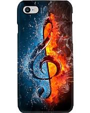 Fire water G-clef  Phone Case i-phone-8-case