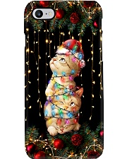 Cat Christmas Phone Case i-phone-8-case