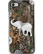 Elephant metal printed phone case Phone Case i-phone-8-case