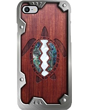 Wooden Turtle Metal Pattern Print  Phone Case i-phone-8-case