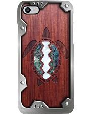 Wooden Turtle Metal Pattern Print  Phone Case i-phone-8-case