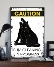 Caution bum cleaning  11x17 Poster lifestyle-poster-2