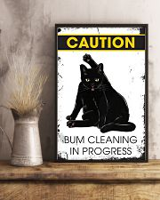 Caution bum cleaning  11x17 Poster lifestyle-poster-3