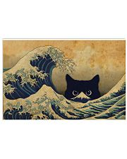 Great Wave Cat 17x11 Poster front