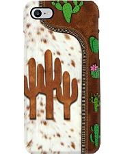 Cactus Leather Pattern Print Phone Case i-phone-8-case