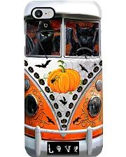 Black cat Halloween Phone Case i-phone-8-case