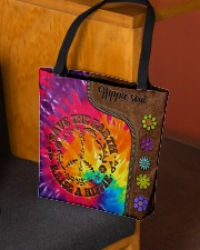 Raise A Hippie Leather Pattern Print  All-over Tote aos-all-over-tote-lifestyle-front-02