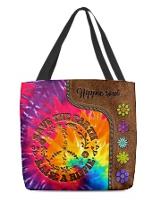 Raise A Hippie Leather Pattern Print  All-over Tote back