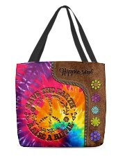 Raise A Hippie Leather Pattern Print  All-over Tote front