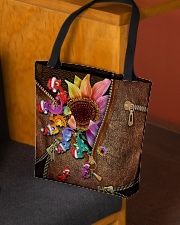 Dragon Leather Pattern Print All-over Tote aos-all-over-tote-lifestyle-front-02