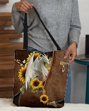 Dragon Sunflowers  All-over Tote aos-all-over-tote-lifestyle-front-10
