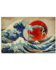The great wave mermaid 17x11 Poster front