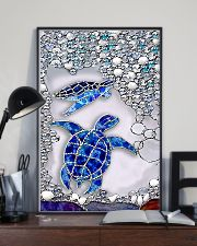 Lovely turtles 11x17 Poster lifestyle-poster-2
