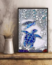 Lovely turtles 11x17 Poster lifestyle-poster-3