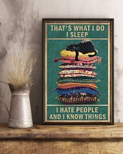 That's what I do 11x17 Poster lifestyle-poster-3