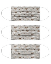 mask pattern paramedic Cloth Face Mask - 3 Pack front