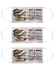 Nurse Thick Cloth Face Mask - 3 Pack front