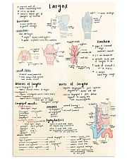 ENT larynx doodle 11x17 Poster front