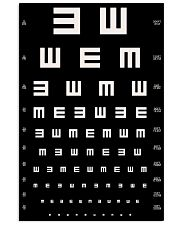 eye-chart 24x36 Poster front