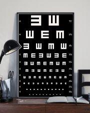 eye-chart 24x36 Poster lifestyle-poster-2