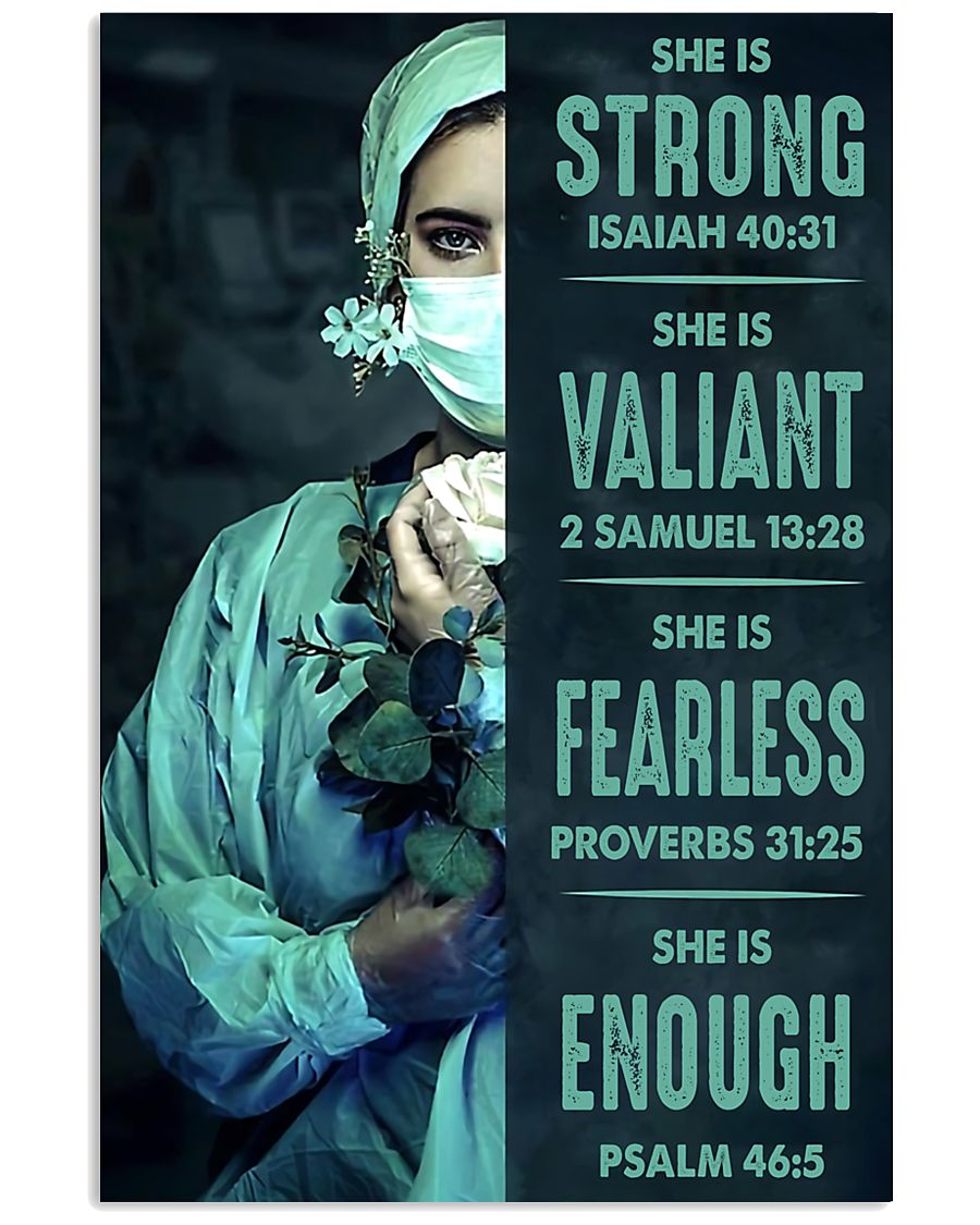 nurse bible 11x17 Poster