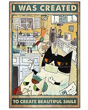 dentist cat smile 11x17 Poster front
