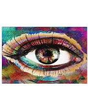 eye painting dvhd 17x11 Poster front