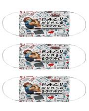 mas squad pacu nurse Cloth Face Mask - 3 Pack front
