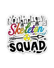 Skeleton Squad Sticker Sticker - 4 pack (Vertical) front