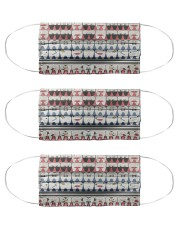 dental abstract 2506 13 Cloth Face Mask - 3 Pack front