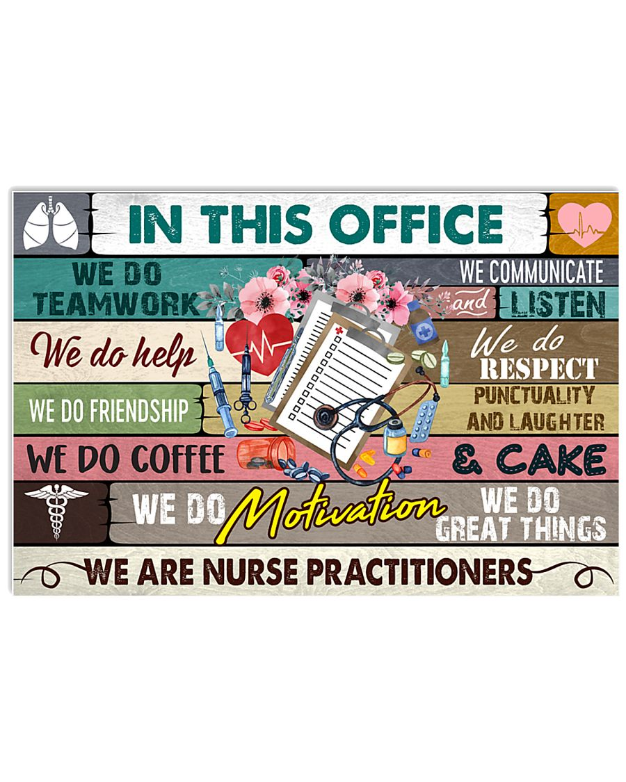 this-office-Nurse-practitioner 17x11 Poster