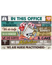 this-office-Nurse-practitioner 17x11 Poster front