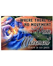 TCM pain movement 17x11 Poster front