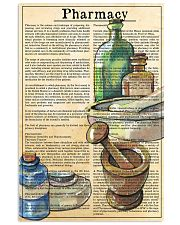 pharmacy-text 11x17 Poster front