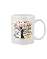 this office tree optometrist  Mug tile