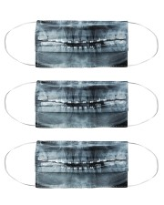 Xray Teeth Bracer Cloth Face Mask - 3 Pack front