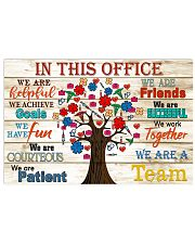 paramedic this office tree 17x11 Poster front