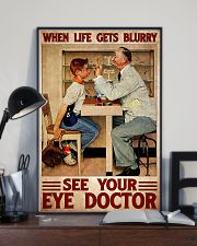 eye doctor blur 24x36 Poster lifestyle-poster-2