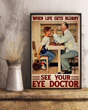 eye doctor blur 24x36 Poster lifestyle-poster-3