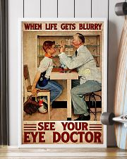 eye doctor blur 24x36 Poster lifestyle-poster-4