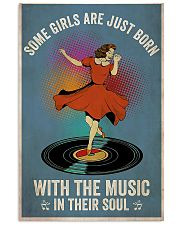 girl music  11x17 Poster front