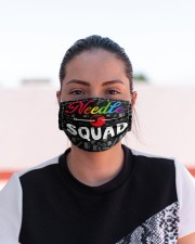 squad blk mask needle  Cloth Face Mask - 3 Pack aos-face-mask-lifestyle-03