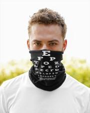 eye chart-close-mask wht Neck Gaiter - 3 Pack aos-neck-gaiter-lifestyle-07