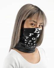 eye chart-close-mask wht Neck Gaiter - 3 Pack aos-neck-gaiter-lifestyle-14
