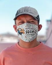 squad mask dental hygienist Cloth Face Mask - 3 Pack aos-face-mask-lifestyle-06