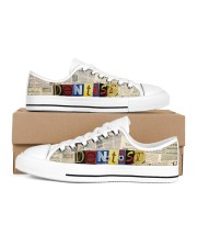 ransom dentist Men's Low Top White Shoes inside-right-outside-right