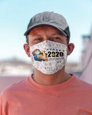 nurse girl 2020 heros mas Cloth Face Mask - 3 Pack aos-face-mask-lifestyle-06